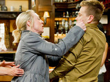 Emmerdale 6322: Assuming David is the father of Rachel's baby, Ali angrily confronts him in the Woolpack