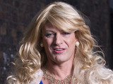 Sean Bean in drag in 'Accused'