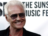 Actor and musician Michael Des Barres arrives at the launch of the Sunset Strip Music Festival featuring a tribute to Ozzy Osbourne