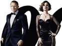 Daniel Craig and his James Bond co-stars are front and center on the new Skyfall poster.