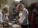 Shirley takes matters into her own hands on EastEnders this evening.
