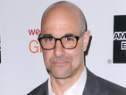 Stanley Tucci playing Patient Zero villain