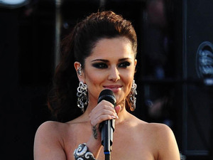 Cheryl Cole performing at Queen's Diamond Jubilee concert