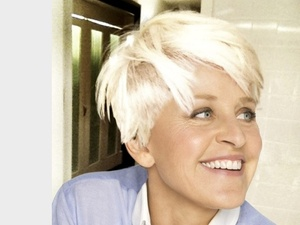 Ellen DeGeneres copies Miley Cyrus's new short hair