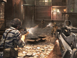 Game play of Call of Duty: Black Ops Declassified