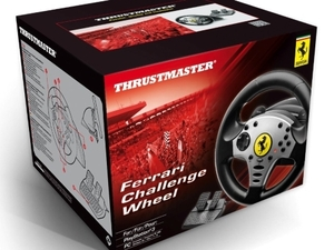 Thrustmaster Ferrari challenge wheel box