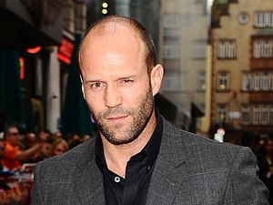 Jason Statham arriving for the UK Premiere of The Expendables 2, at the Empire Cinema, Leicester Square, London.