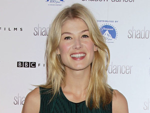 Rosamund Pike arriving for the UK Premiere of Shadow Dancer at Cineworld, Haymarket, London.