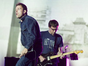 Blur perform at BT London Live held at Hyde Park