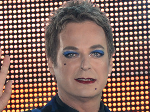 Julian Clary arriving at the Celebrity Big Brother House 2012, Elstree Studios, Borehamwood, Hertfordshire.