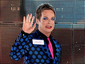Julian Clary enters the Celebrity Big Brother house