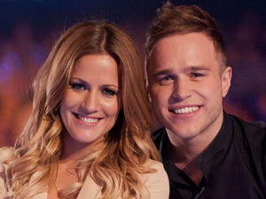 The X Factor 2012: Xtra Factor presenters Caroline Flack and Olly Murs