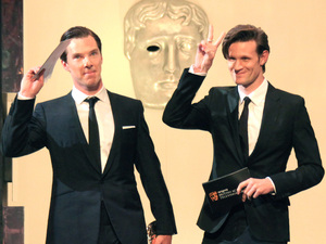 Matt Smith, Benedict Cumberbatch, BAFTA British Academy Television Awards Show
