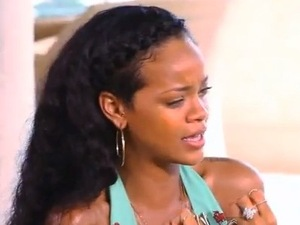 Rihanna on Oprah