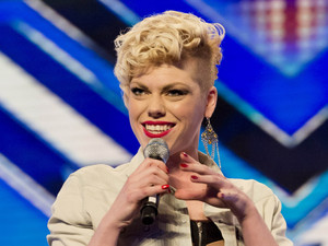 Zoe - X Factor contestant 2012 - Pink impersonator