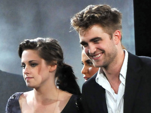 Taylor Lautner, Kristen Stewart, Robert Pattinson The Twilight Saga: Eclipse cast make an appearance on ABC's 'Jimmy Kimmel Live' held at the Kimmel theatre. Los Angeles, California, USA - 14.06.10 **Only available for publication in the UK, USA Daily Newspapers, Germany, Austria and Switzerland, Portugal, Canada, United Arab Emirates & China. Not available for USA Magazines and the rest of the world** Mandatory Credit: WENN.com
