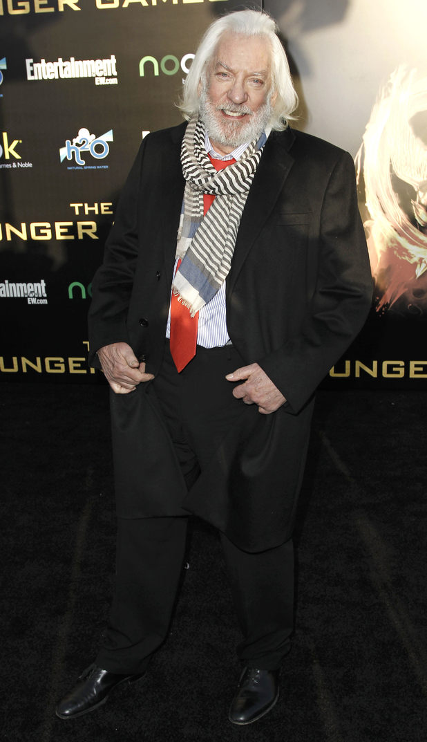 Donald Sutherland The Hunger Games: Catching Fire