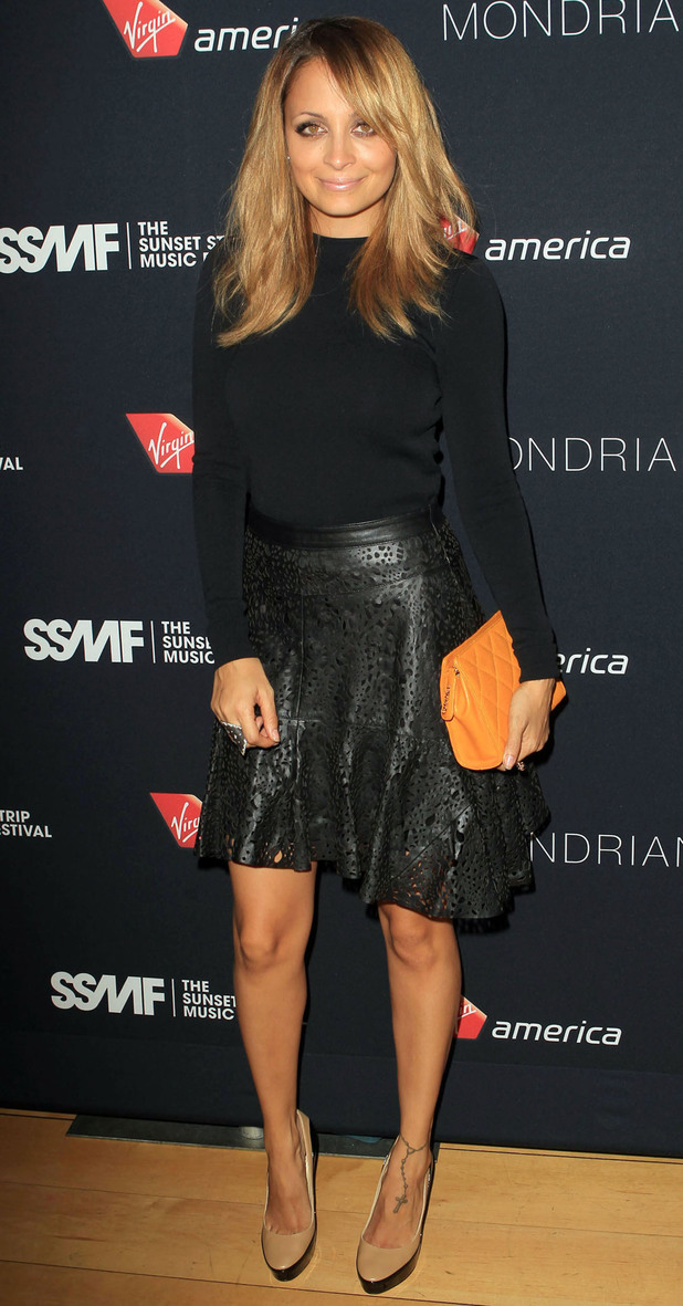 Nicole Richie attends the 5th Annual Sunset Strip Music Festival at SkyBar.