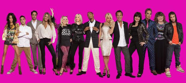 The Celebrity Big Brother 2012 Housemates