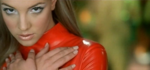 Britney Spears in &#39;Oops!... I Did It Again&#39; music video.