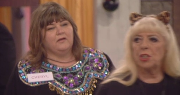 Cheryl and Julie Goodyear rowing on CBB