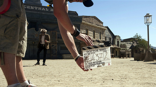 Episode 3 clapperboard