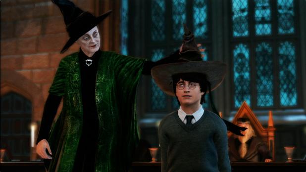'Harry Potter Kinect' - screenshot