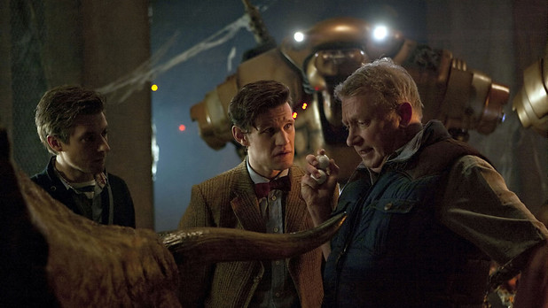 Rory, The Doctor and Brian