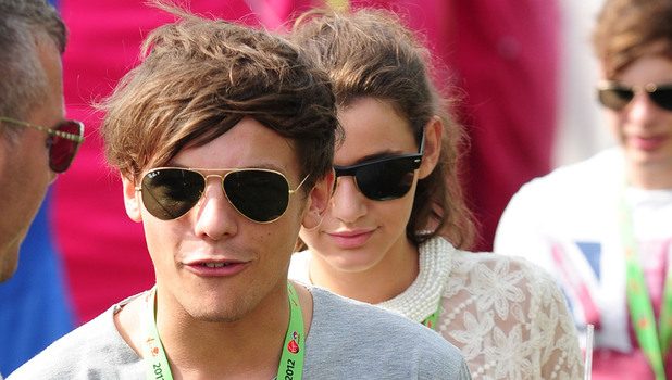 Louis Tomlinson V Festival 2012 held at Hylands Park - Performances - Day Two Essex, England - 19.08.12 Credit Mandatory: WENN.com