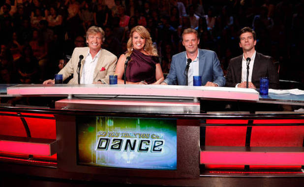 So You Think You Can Dance USA S09E10: Judges Nigel Lythgoe, Mia Michaels, Michael Nunn and Billy Trevitt