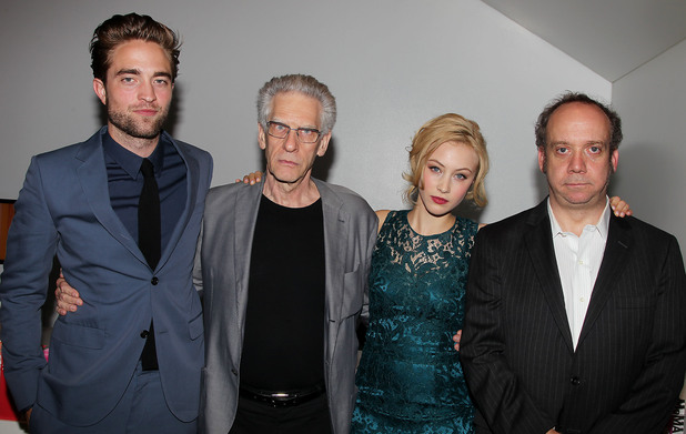 Robert Pattinson, David Cronenberg, Sarah Gadon and Paul Giamatti