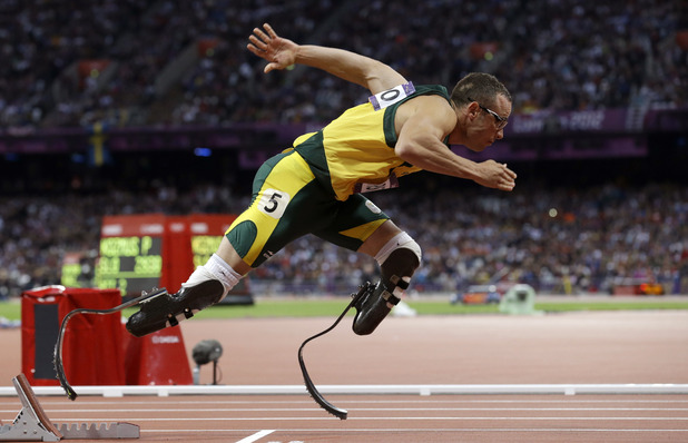 South Africa&#39;s Oscar Pistorius