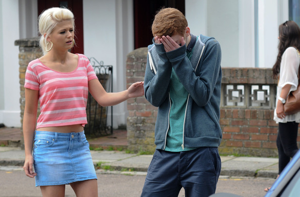 Jay is devastated when Tanya keeps Abi away from him.