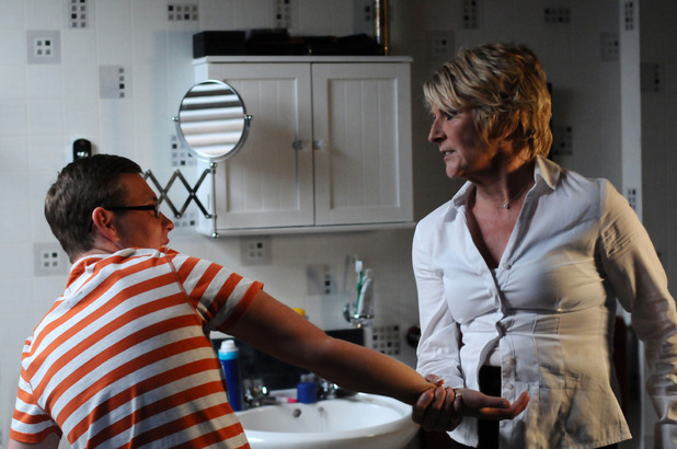 Shirley finally knows the truth in EastEnders