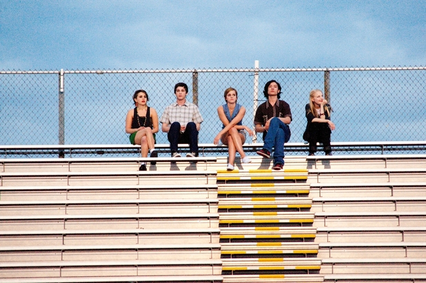 The Perks of Being a Wallflower bleachers