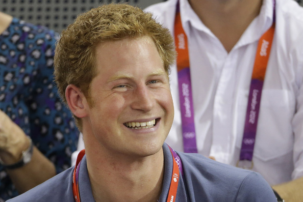 Prince Harry at Olympics