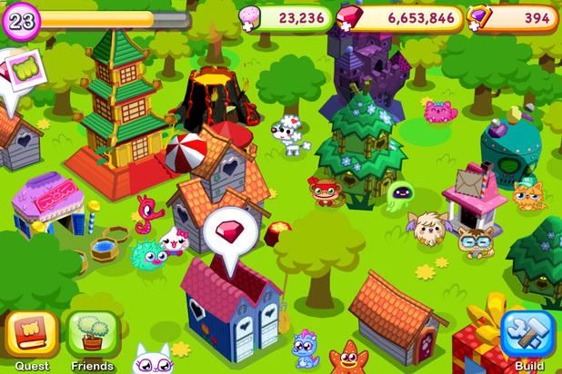 'Moshi Monsters' screenshot