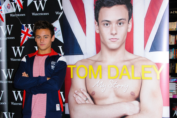 Tom Daley & other young stars with autobiographies