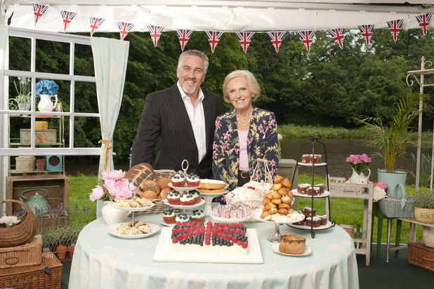 Great British Bake Off 2012 contestants: Judges Paul Hollywood and Mary Berry 