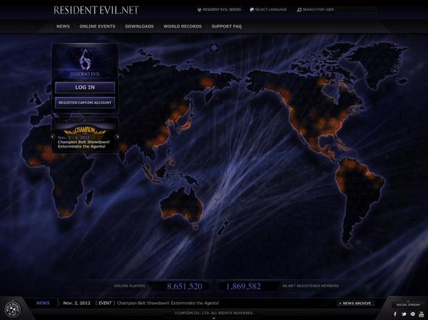 ResidentEvil.net screenshot