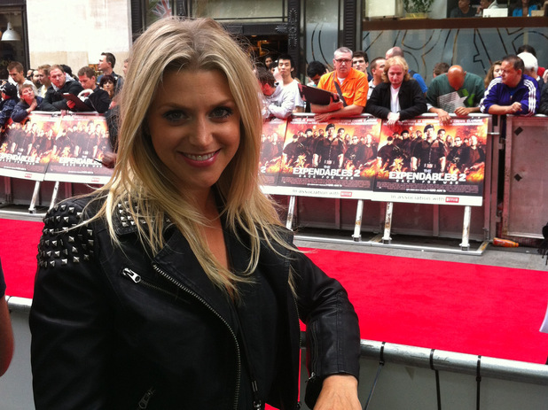 Anna Williamson at Expendables 2 premiere.
