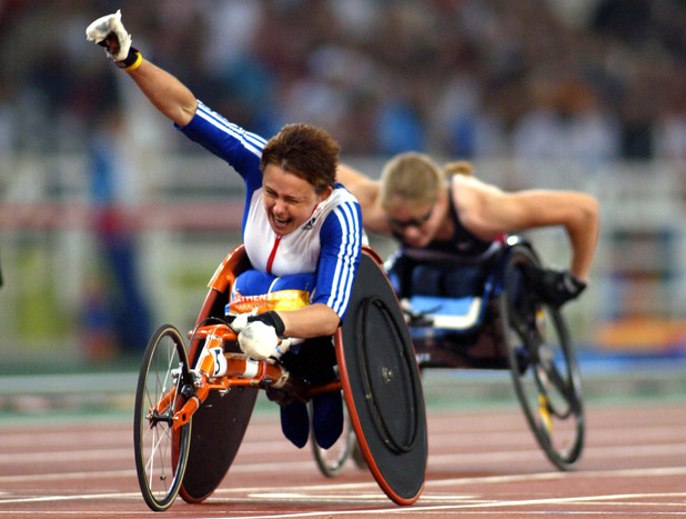 Great Britain&#39;s Tanni Grey Thompson