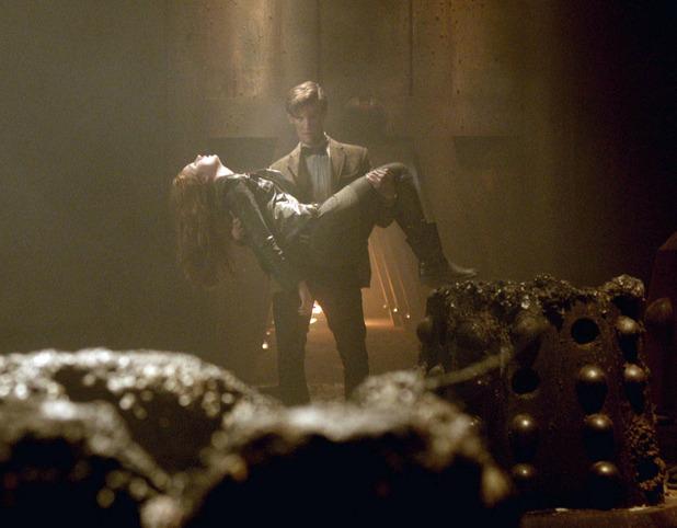 Doctor Who S07E01: 'Asylum of the Daleks'