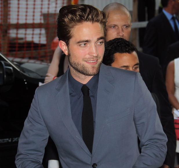 Rob Pattinson Cosmopolis premiere New York