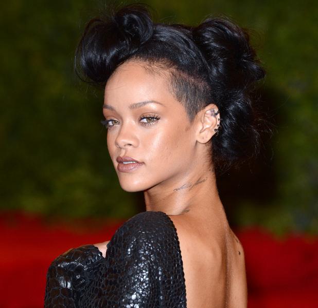Rihanna Schiaparelli and Prada 'Impossible Conversations' Costume Institute Gala 2012 at The Metropolitan Museum of Art New York City, USA - 07.05.12 Mandatory Credit: Lia Toby/WENN.com