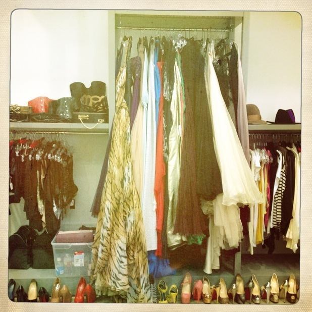 Christina Aguilera wardrobe