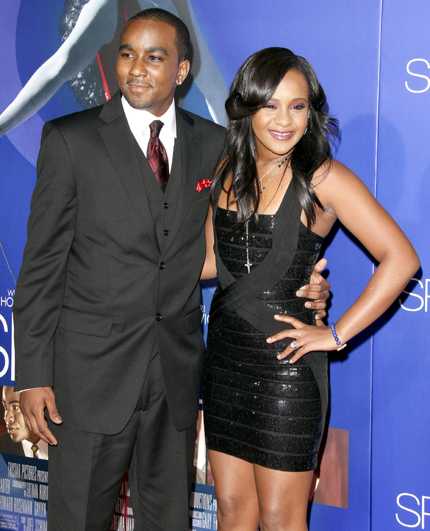 Bobbi Kristina Brown and Nick Gordon New York screening of 'Sparkle' starring the late Whitney Houston at the Tribeca Grand Hotel -