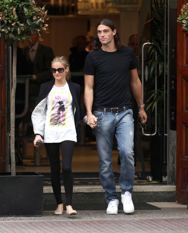 Andy Carroll - Celebrity Pictures: 11/08/12 - 17/08/12 ...