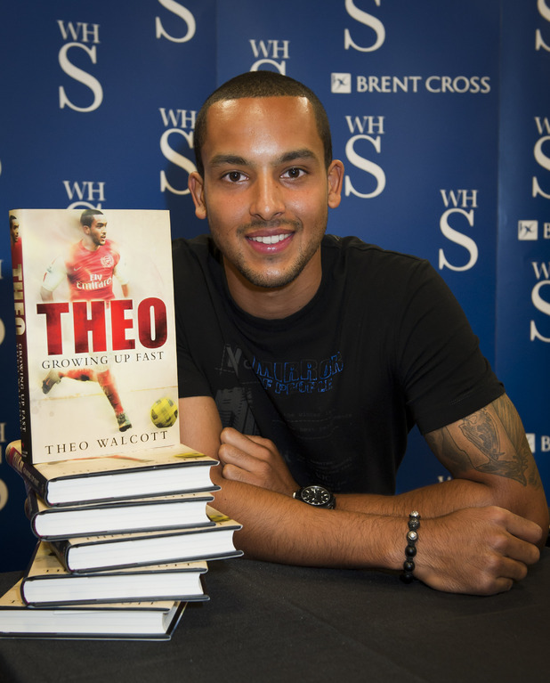 Theo Walcott, Growing Up Fast