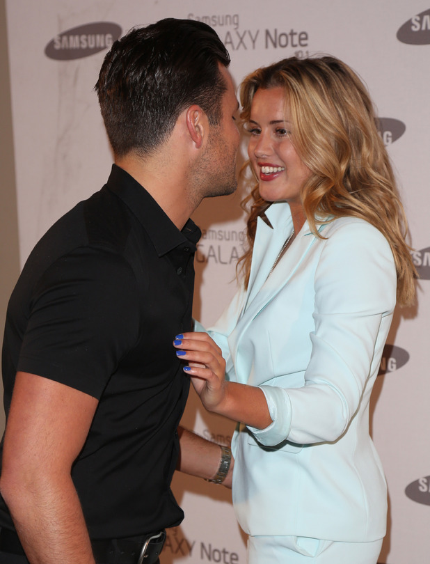 Mark Wright and Caggie Dunlop
